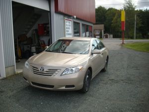Toyota Camry - Cuir 1 ton gris